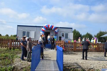 Открытие нового ФАПа в селе Новый Арий