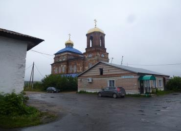 Церковь 17-го века в селе Покровское