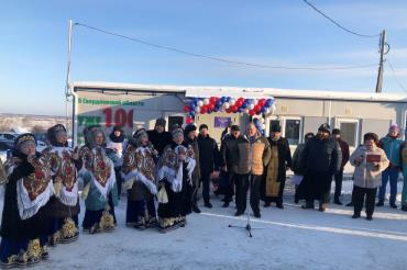 Открытие нового ФАПа в селе Покровское