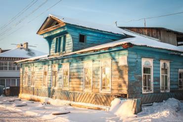 Здание старого ФАПа 1886 года постройки