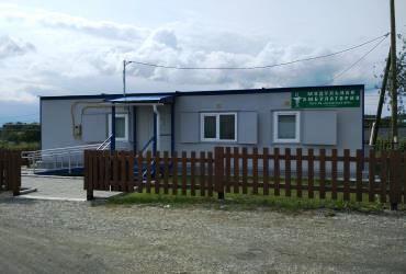 """Блочно-модульное здание сельской амбулатории """"Ермак"""""""