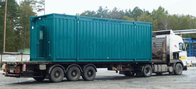 Блочно-модульная станция водоочистки для коттеджного поселка