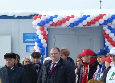 Церемония торжественного открытия ФАПа в с. Леневское