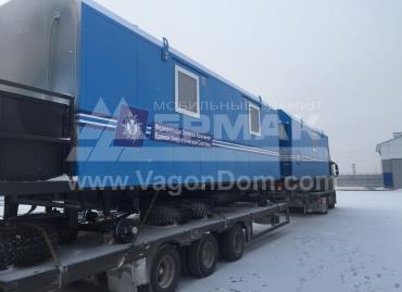 Вагон-дома с дизельными генераторами