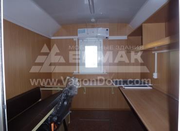 Офисное помещение в мобильном здании
