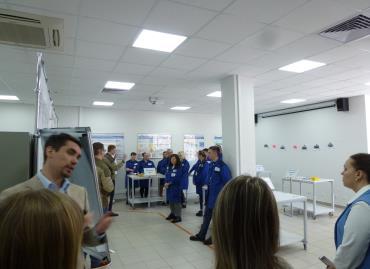 Фабрика процессов в технопарке Университетский