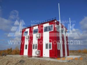 Модульное здание командно-диспетчерского пункта