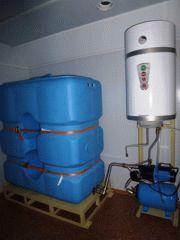 Бак и водонагреватель