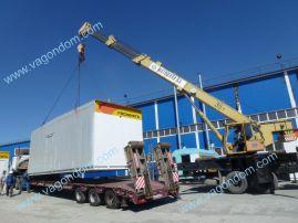 Блочно-модульный КПП для компании Роснефть