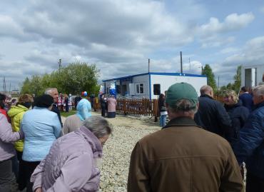Торжественная церемония открытия нового ФАПа в селе Новоипатово