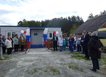 Торжественная церемония открытия нового ФАПа в поселке Асбест