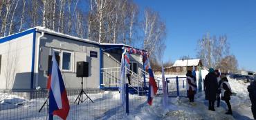 Новый ФАП в селе Белоречка