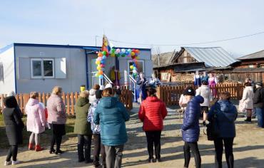 Новый ФАП в селе Романово