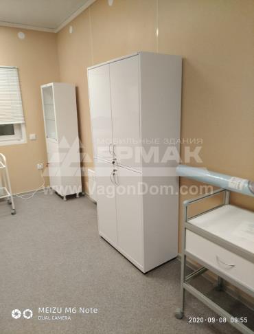 ФАП оснащен медицинской мебелью и оборудованием