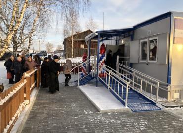 Новый ФАП в селе Висимо-Уткинск