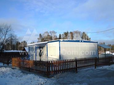 Новый ФАП в поселке Ледянка