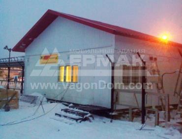 Готовое здание КПП - Роснефть