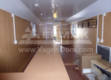 Вагон-дом офис для совещаний