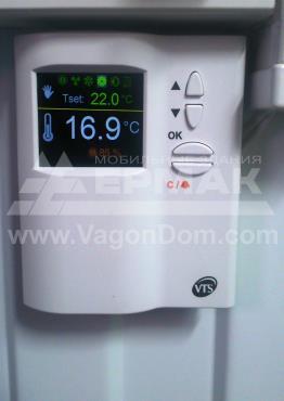 Автоматика управления приточной вентиляцией мобильного здания