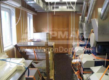 Интерьер блочно-модульной лаборатории