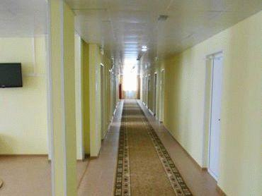 Интерьер быстровозводимого общежития - коридор