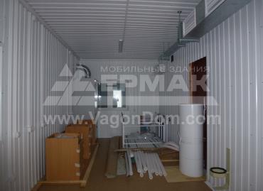 Лабораторное помещение в блочно-модульном здании