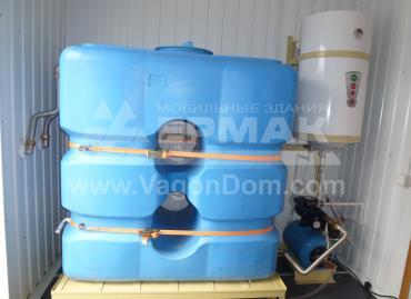 Автономная система водоснабжения блочно-модульной лаборатории