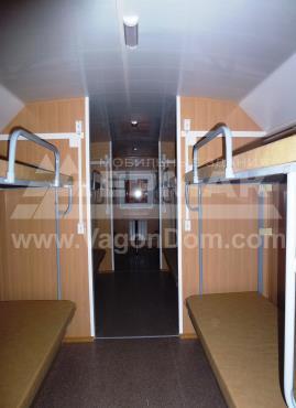 Жилой вагон-дом на 12 человек