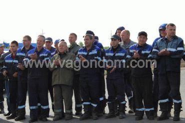 Рабочие ремонтных бригад