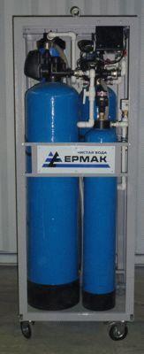Станция водоочистки Ермак - Чистая вода в рамном исполнении