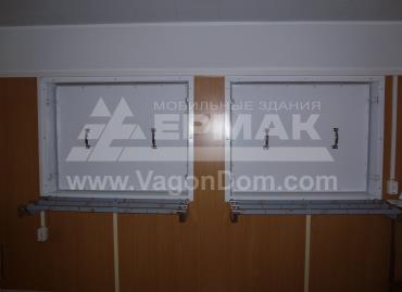 Мобильная столовая для Дойтаг - окна раздачи