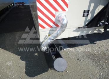 Мобильная столовая для Дойтаг - вывод канализации