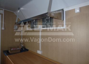 Вагон-дом для компании Акрос