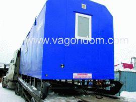 Транспортировка вагон-домов