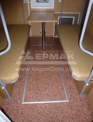 Теплый пол в жилом вагон-доме