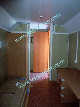 Вагон-дом Ермак 812 - рабочее помещение