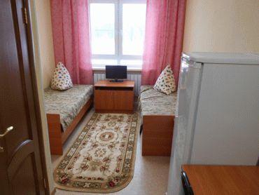 Жилая комната в быстровозводимом общежитии