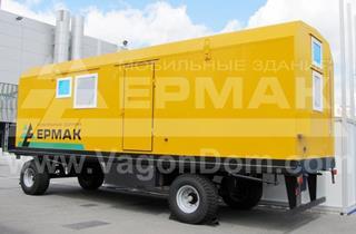 Мобильное здание (вагон-дом) Ермак