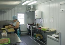 Вагон-дом пекарня