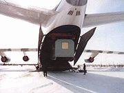 Доставка вагон-домов авиатранспортом