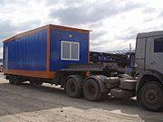 Транспортировка вагон-домов автотранспортом