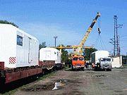 Транспортировка вагон-домов железнодорожным транспортом