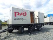Партия вагон-домов для РЖД