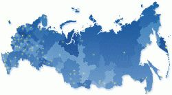 Карта поставок мобильных зданий Ермак