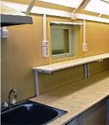 вагон-дом лаборатория с местом для проживания 2 человек