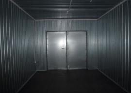 Мобильный склад пожинвентаря - ворота
