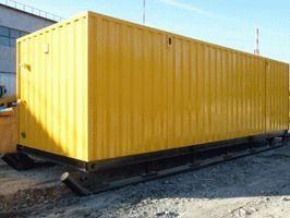 Блок-модуль станции водоочистки