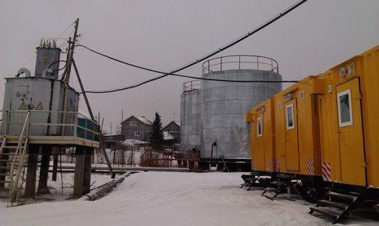Комплекс поселковых водоочистных сооружений в селе Мужи Ямало-Ненецкого автономного округа