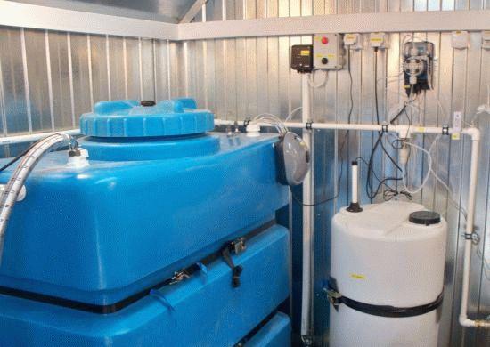 Станция водоочистки Ермак - Чистая вода, Уват