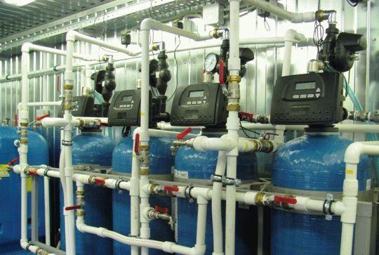 Станция водоочистки - фильтры